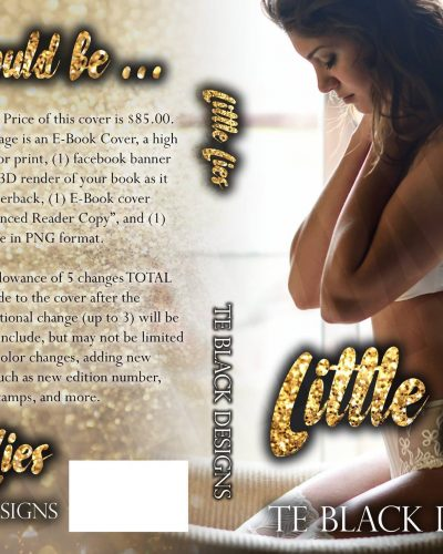 Little Lies Pre-Made Book Cover