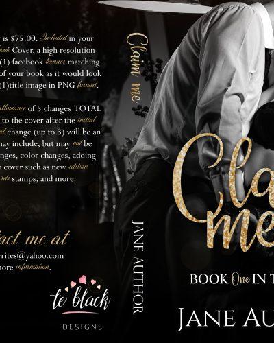 Claim Me Pre-made Book Cover