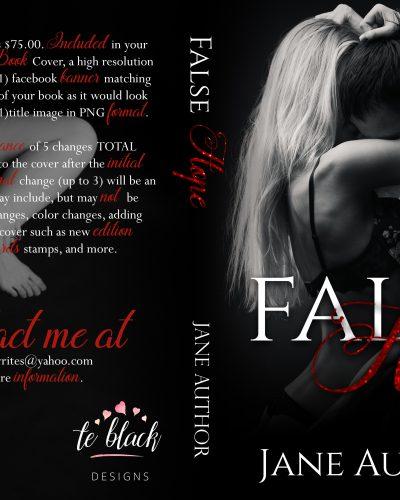 False Hope Pre-made Book Cover
